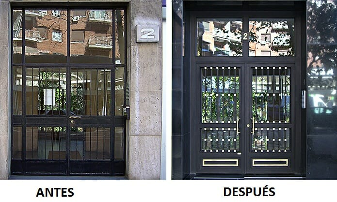 Reforma portales Salamanca