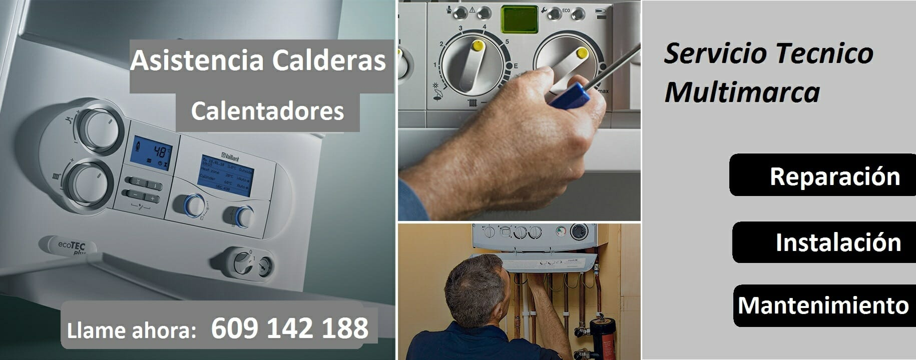 Reparación Calderas Barcelona