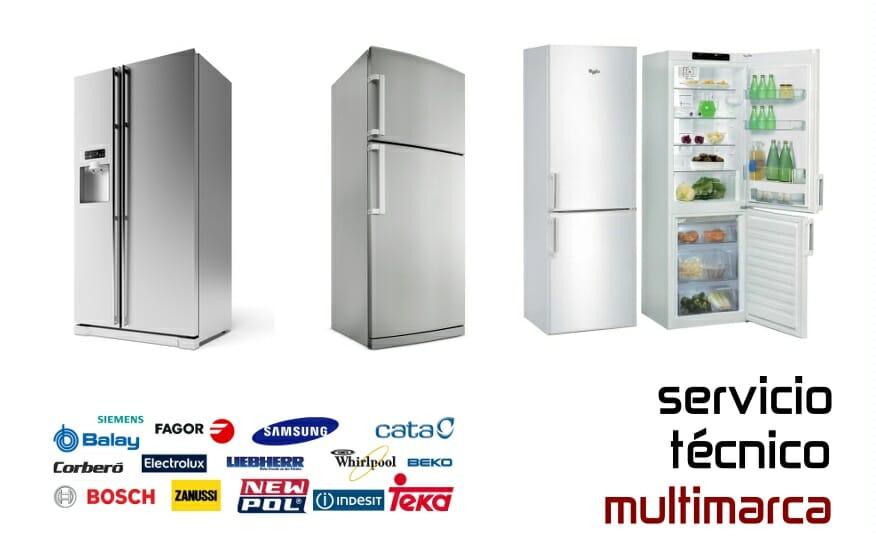 Reparación frigoríficos Madrid