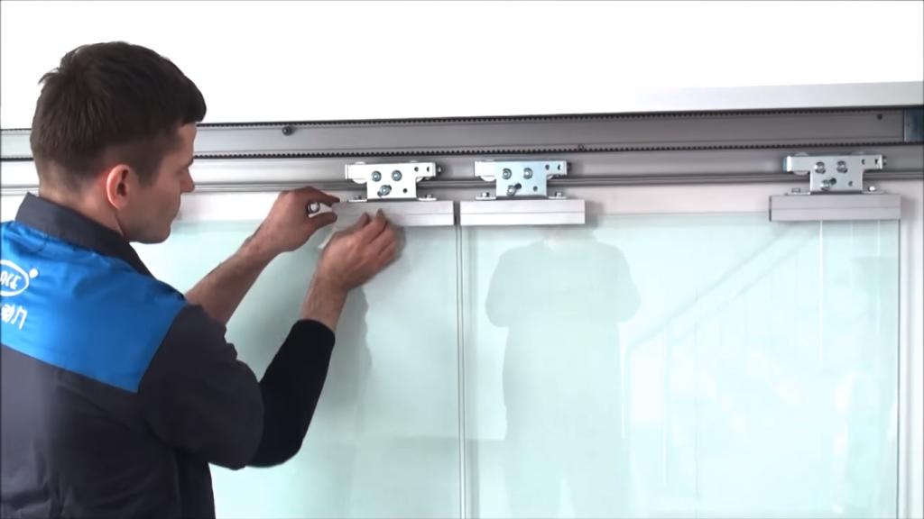Puertas automáticas cristal Madrid